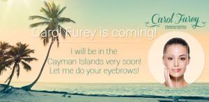 Carol Furey maquillaje permanente en Islas Cayman