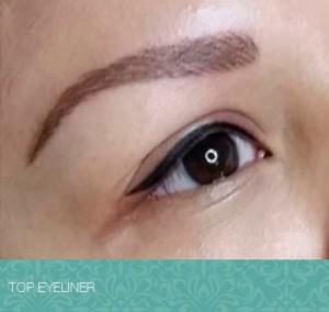 Ojos perfectamente delineados con maquillaje permanente